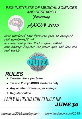 Junior Quiz - AXON 2015